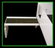 Ramp in table position
